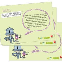 Banques: Dehors les seniors?